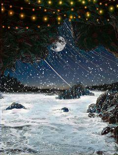 freetoedit cave moon light lights