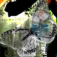 freetoedit butterfly sticker water image