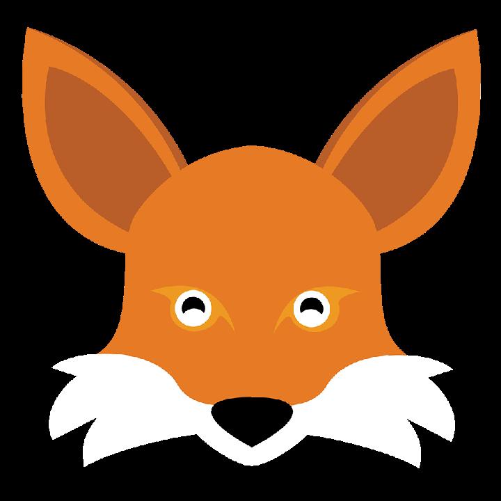 #animals #baby #fox #minimalistic #stickers