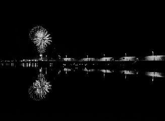 freetoedit blackandwhite photography fireworks night