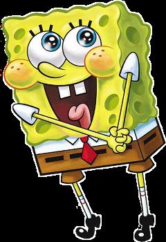 spongebob yellow cartoon cute freetoedit