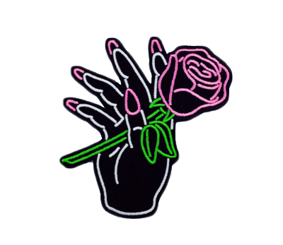 #rose #black #aesthetic #hand #tumblr #freetoedit