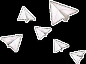 aviones de papel freetoedit