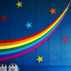 wall colorful rainbow photography star freetoedit
