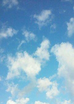 nofilter sky blue nature clouds