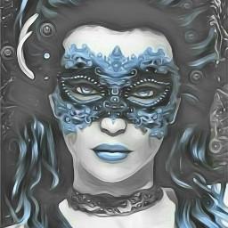 freetoedit magiceffect mask painting mascarade