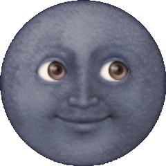 freetoedit moon smile stickers