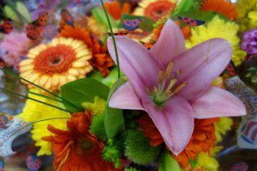 freetoedit colorful bouquet mixedflowers