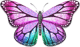sticker butterfly glitter farfalla freetoedit