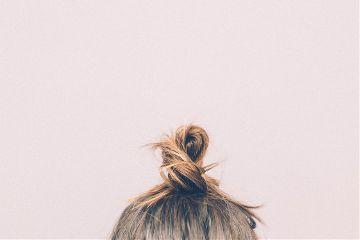 freetoedit hair human portrait pink