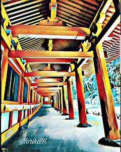 freetoedit japan shrine pleinairmagiceffect vermillion
