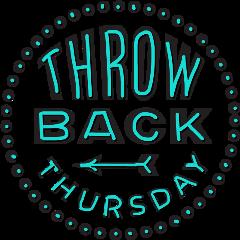 thursday sticker freetoedit tbt throwback