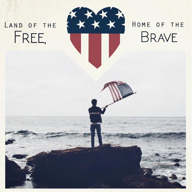 #freetoedit #americanflag #fourthofjuly #patriotic #redwhiteandblue