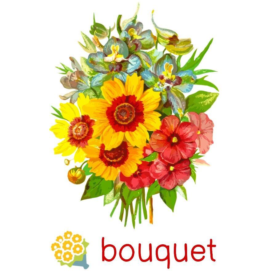 Bouquet Emoji Image By Pannipa