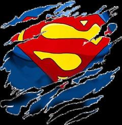 superman tshirt scars