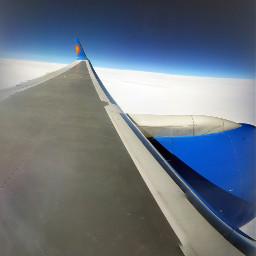airplane clouds bluesky home corfu