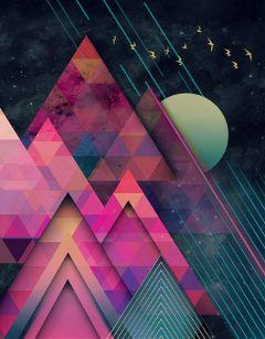 space universe galaxy geometric geometricart