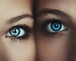 freetoedit eyes goals blue