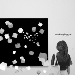 freetoedit blackandwhite cubes clipart cliparts