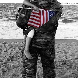 usa americansoldier father dad child freetoedit