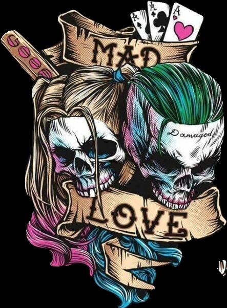 Harley Quinn And Joker Card Tattoos Best Tattoo Ideas
