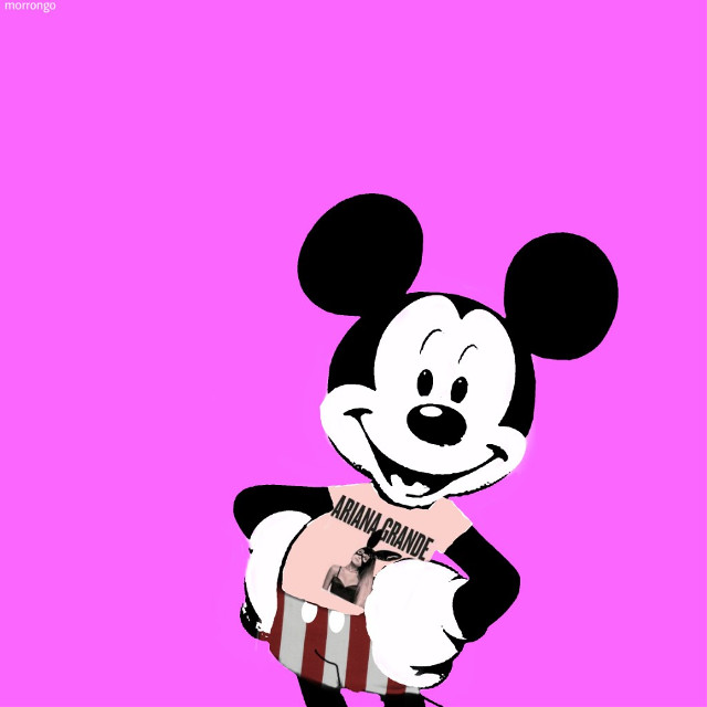 #myedit #creative #artistic #mickeymouse #popart #arianagrande