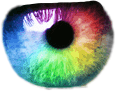 pupil eye rainbow freetoedit