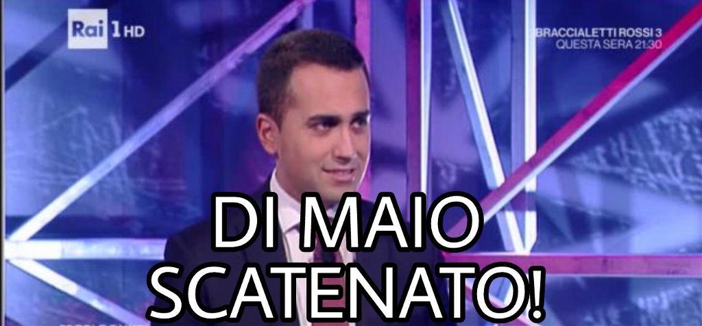 """Risultati immagini per GIORNALISTA A DI MAIO:""""MA COME FAI A STARE CON IL M5S?"""" DI MAIO LO AMMUTOLISCE COSI.."""