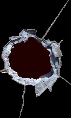 holeinthewall hole cracked wall freetoedit