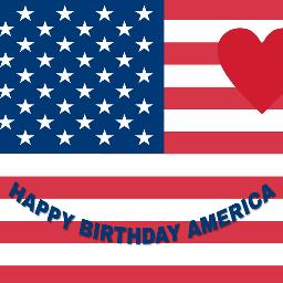 freetoedit happy4thofjuly haveagreatday besafe americanflag