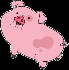waddels waddelsgravityfalls pig piggy cute