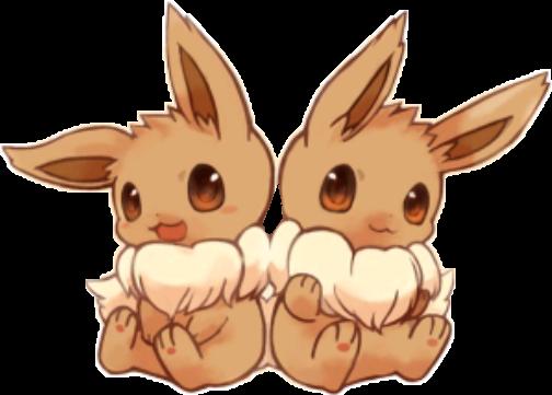 baby pokemon eevee cute adorable