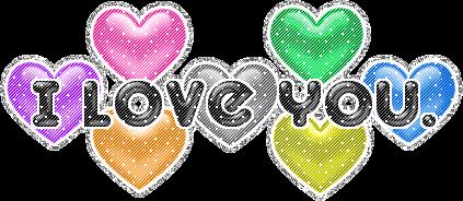 sticker iloveyou love sweet written