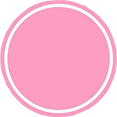 circle pink round layout icon