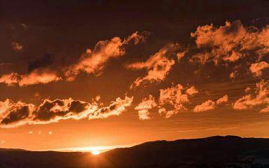 redfire sunset sky sun summer freetoedit