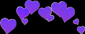 crown crownhearts heartcrown blackcrown purplecrown