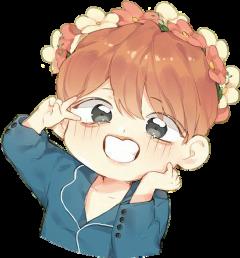 bts j-hope yourhopeyourangel flowers cute