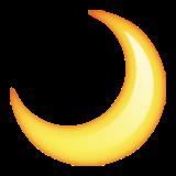 달 moon 🌙 초승달 반달