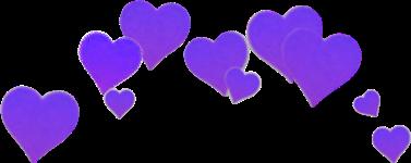 heart hearts purple sad.ann freetoedit