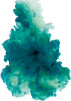 turquoise color smoke beep freetoedit