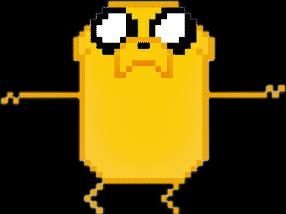 jakethedog adventuretime pixel sticker tumblr