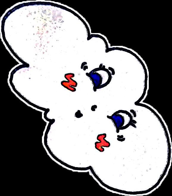 #colorful #cute #pencilart #spring #cartoon #cloud #winter