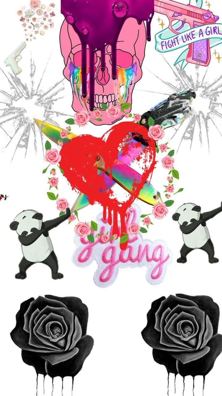 #collage #girlgang #death