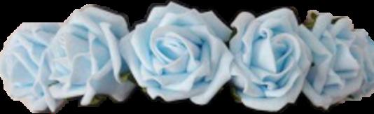 blue flowercrown freetoedit