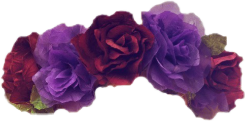 purple flowercrown freetoedit