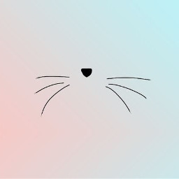 freetoedit whiskers ombrebackground catwhiskers