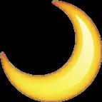 moon emoji whatsappemoji whatsappemojis emojis