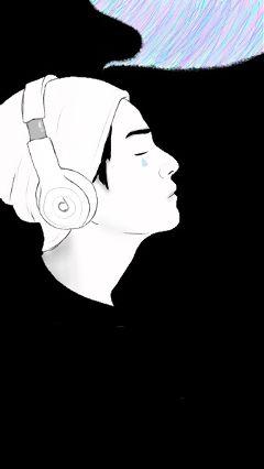 art interesting drawing outline portrait freetoedit