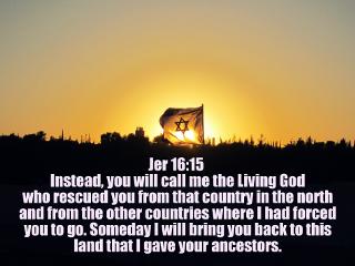 flag god israel prophecy rescue