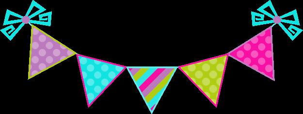 decoration party fiesta decoracion triangulo